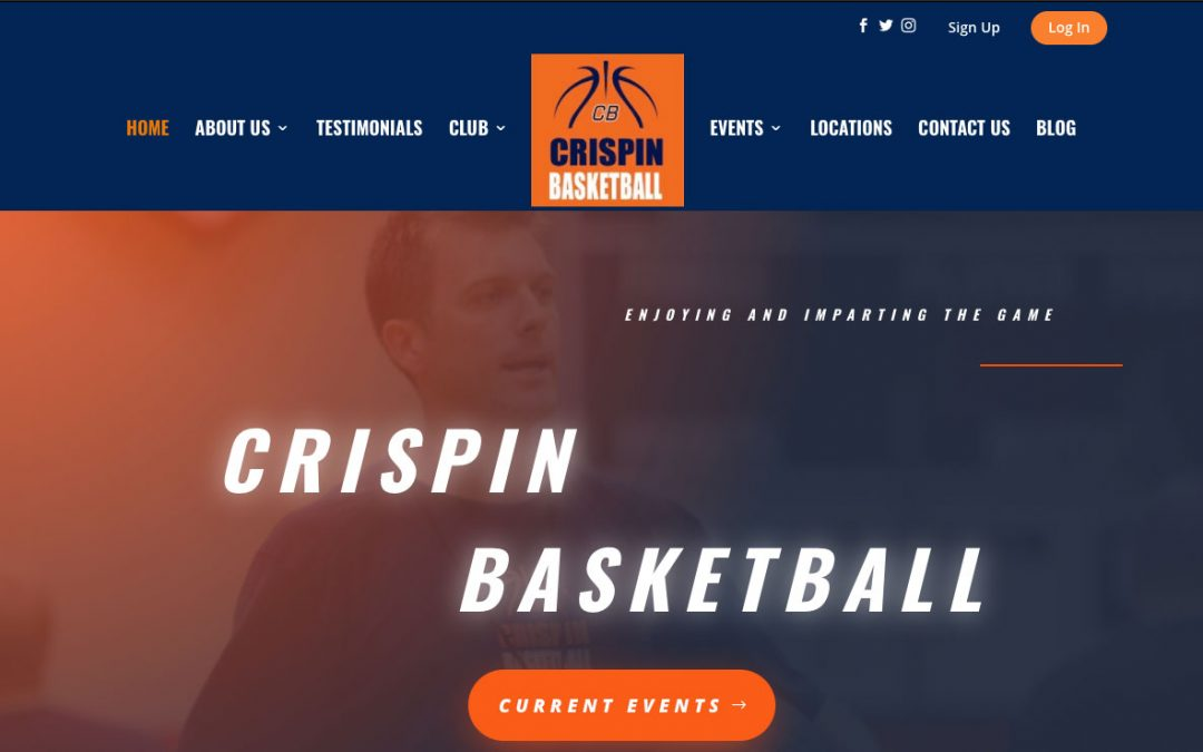 Crispin Basketball Announces New Website Launch